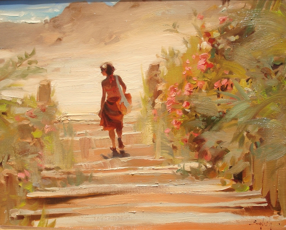 Kim English 1957 - American Plein-Air painter - Tutt'Art@ (38)