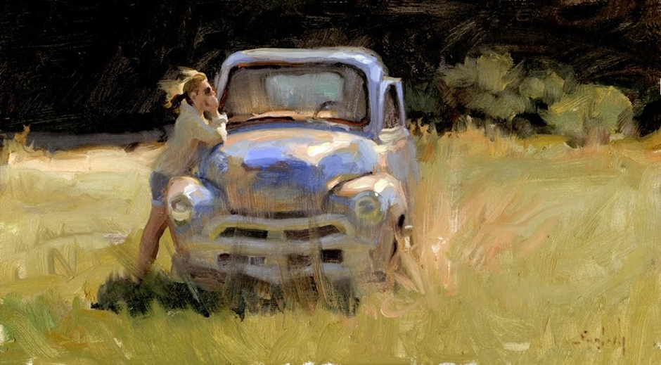 Kim English 1957 - American Plein-Air painter - Tutt'Art@ (41)