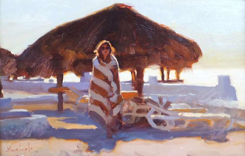 Kim English 1957 - American Plein-Air painter - Tutt'Art@ (43)