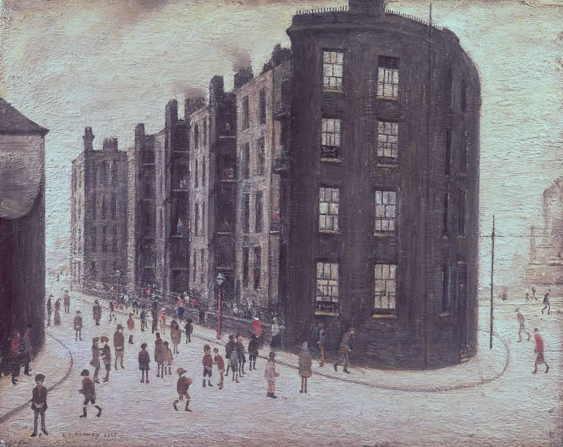 Dwelling, Ordsall Lane, Salford 1927 by L.S. Lowry 1887-1976
