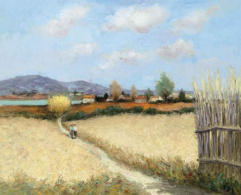 Marcel Dyf 1899-1985 - French  Impressionist Painter - Lamdscapes - Tutt'Art@ (3)