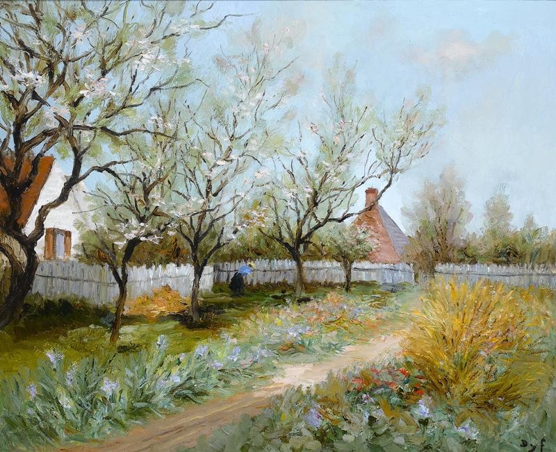 Marcel Dyf 1899-1985 - French  Impressionist Painter - Lamdscapes - Tutt'Art@ (4)