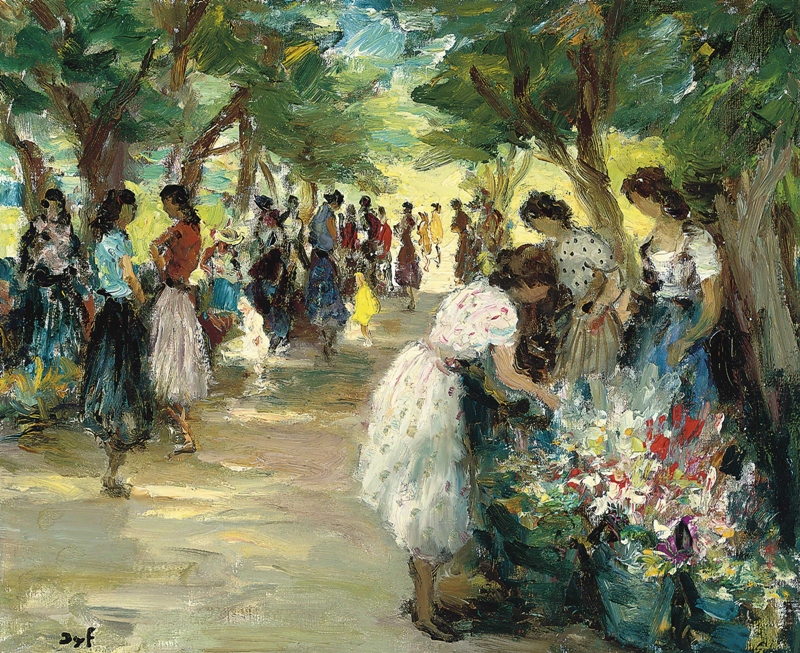 Marcel Dyf 1899-1985 - French  Impressionist Painter - Lamdscapes - Tutt'Art@ (7)