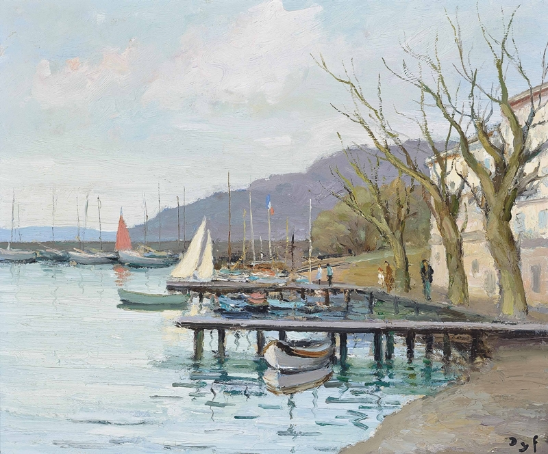 Marcel Dyf 1899-1985 - French  Impressionist Painter - Lamdscapes - Tutt'Art@ (14)
