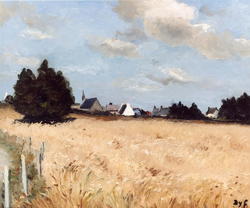 Marcel Dyf 1899-1985 - French  Impressionist Painter - Lamdscapes - Tutt'Art@ (17)