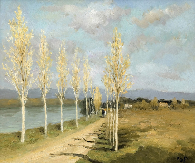 Marcel Dyf 1899-1985 - French  Impressionist Painter - Lamdscapes - Tutt'Art@ (19)