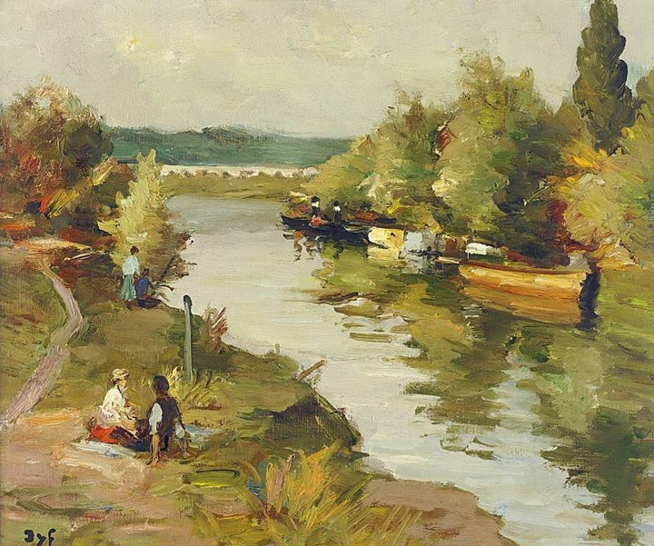 Marcel Dyf 1899-1985 - French  Impressionist Painter - Lamdscapes - Tutt'Art@ (20)