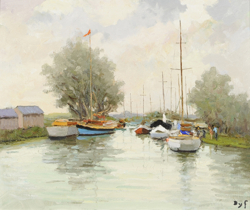 Marcel Dyf 1899-1985 - French  Impressionist Painter - Lamdscapes - Tutt'Art@ (21)