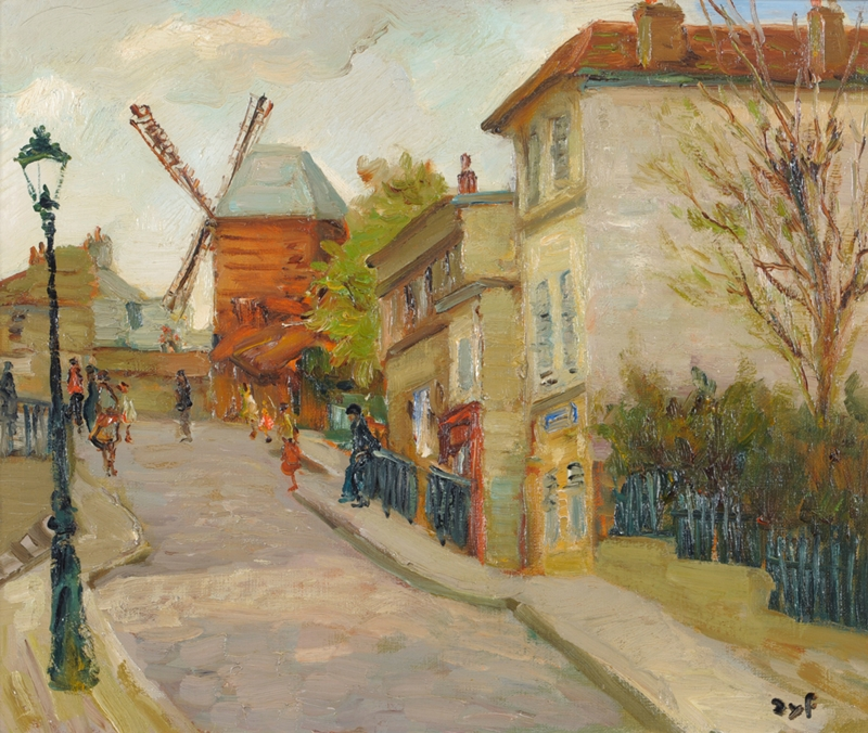 Marcel Dyf 1899-1985 - French  Impressionist Painter - Lamdscapes - Tutt'Art@ (22)