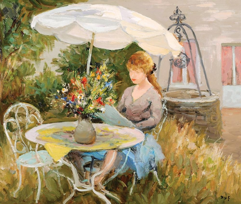 Marcel Dyf 1899-1985 - French  Impressionist Painter - Lamdscapes - Tutt'Art@ (23)