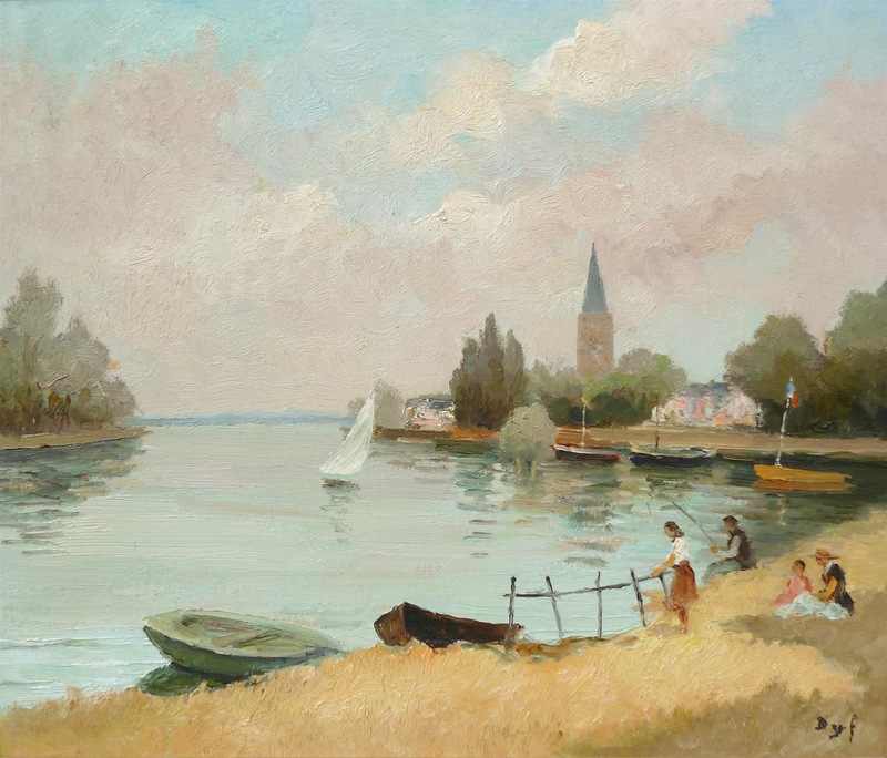 Marcel Dyf 1899-1985 - French  Impressionist Painter - Lamdscapes - Tutt'Art@ (24)