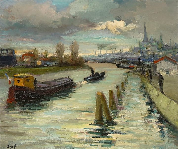 Marcel Dyf 1899-1985 - French  Impressionist Painter - Lamdscapes - Tutt'Art@