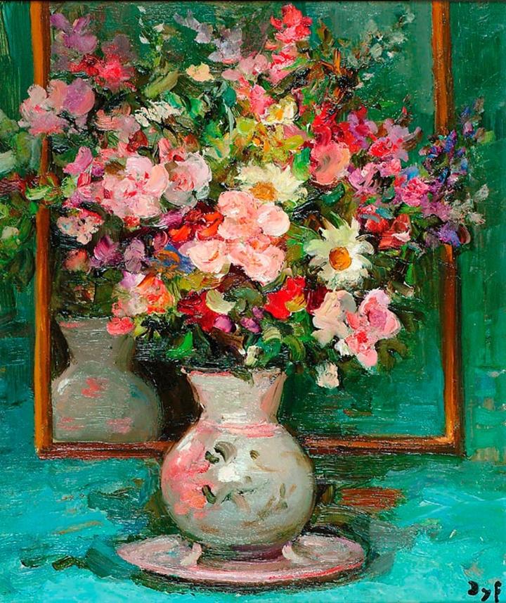 Marcel Dyf 1899-1985 - French  Impressionist Painter - Still Life - Tutt'Art@ (4)