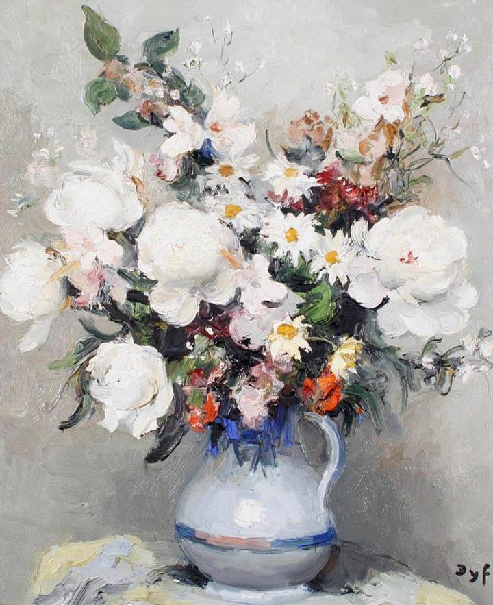 Marcel Dyf 1899-1985 - French  Impressionist Painter - Still Life - Tutt'Art@ (5)