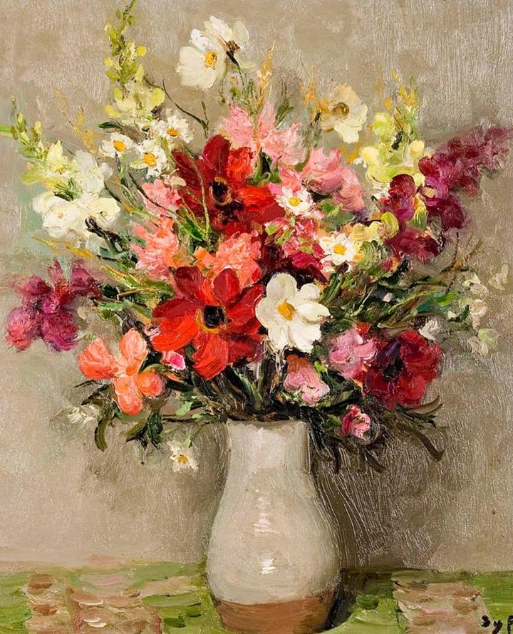 Marcel Dyf 1899-1985 - French  Impressionist Painter - Still Life - Tutt'Art@ (6)