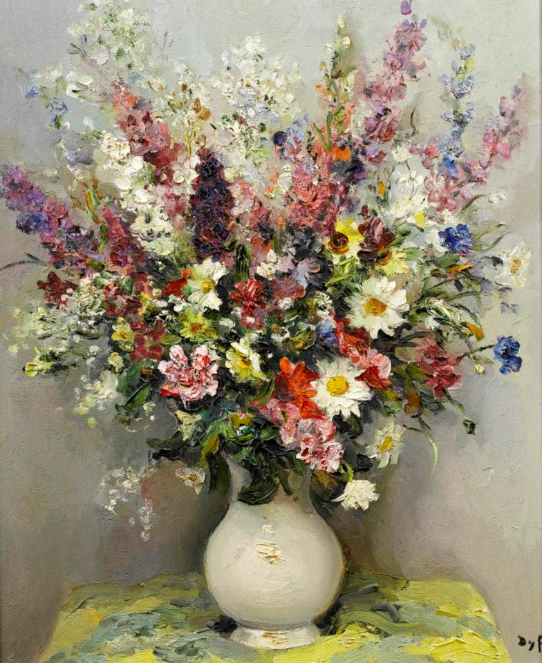 Marcel Dyf 1899-1985 - French  Impressionist Painter - Still Life - Tutt'Art@ (8)