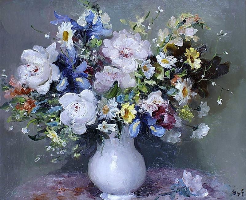 Marcel Dyf 1899-1985 - French  Impressionist Painter - Still Life - Tutt'Art@ (12)