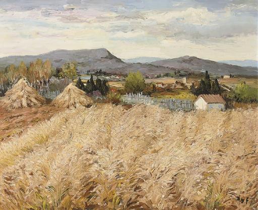 Moisson en Provence