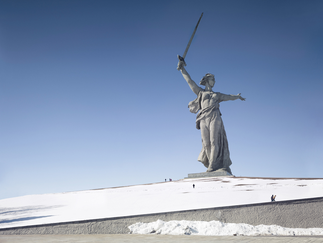 The Motherland Call, Volgograd, Russia, 285 ft, built in 1967