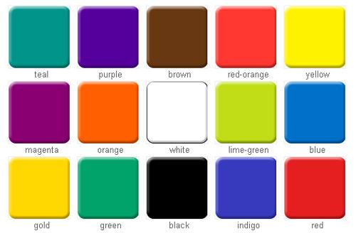 Тест по цветам психология
