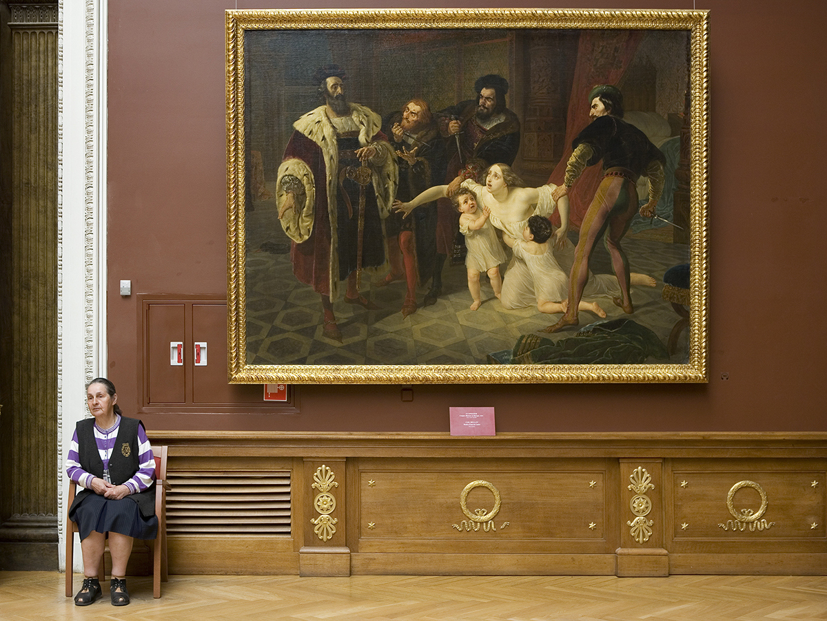 Brullow's Death of Ines de Castro, Russian State Museum   2009