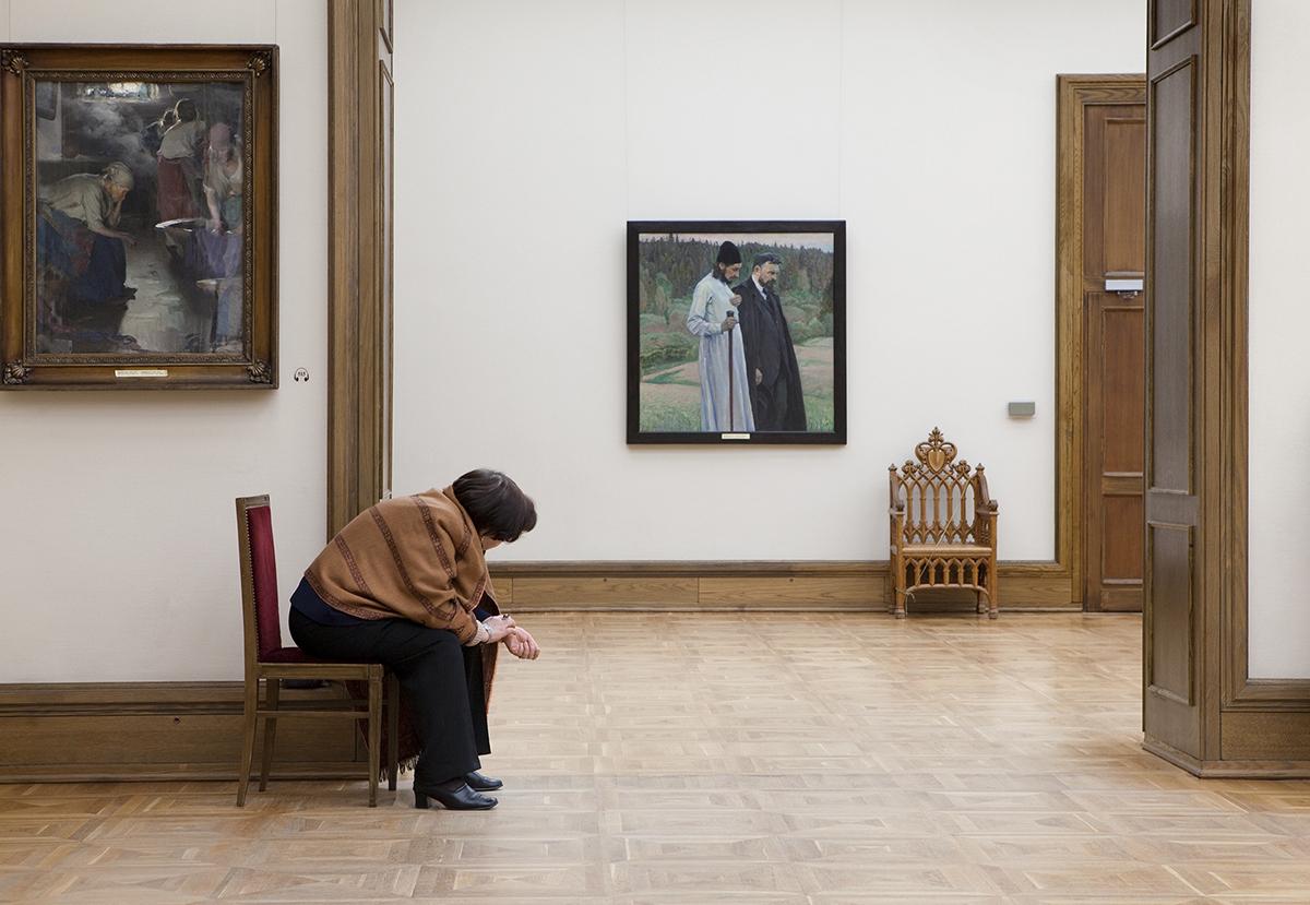 Nesterov's Philosopher's, State Tretyakov Gallery   2009