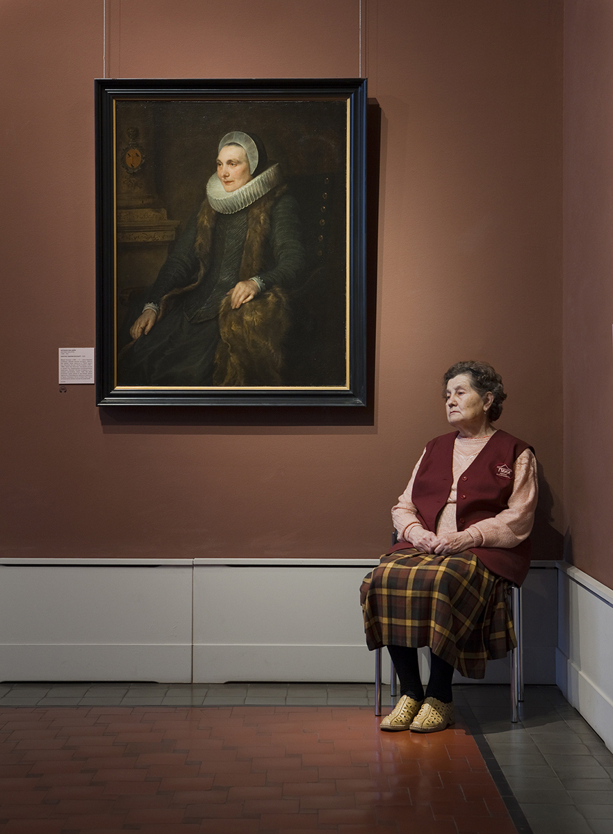 Van Dyck's Portrait of Maria Bosschaerts, Pushkin Museum  2009
