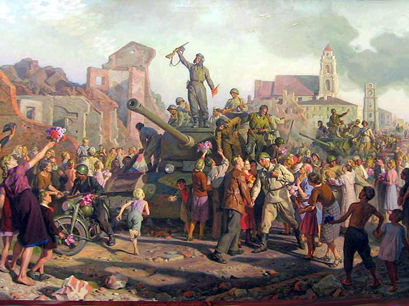В.Волков Освобождение Минска