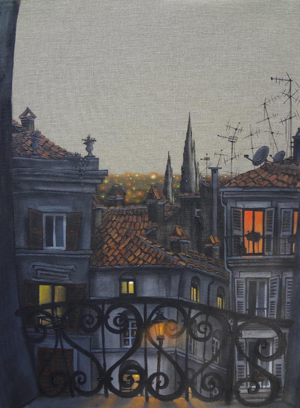 A balcony in Rome