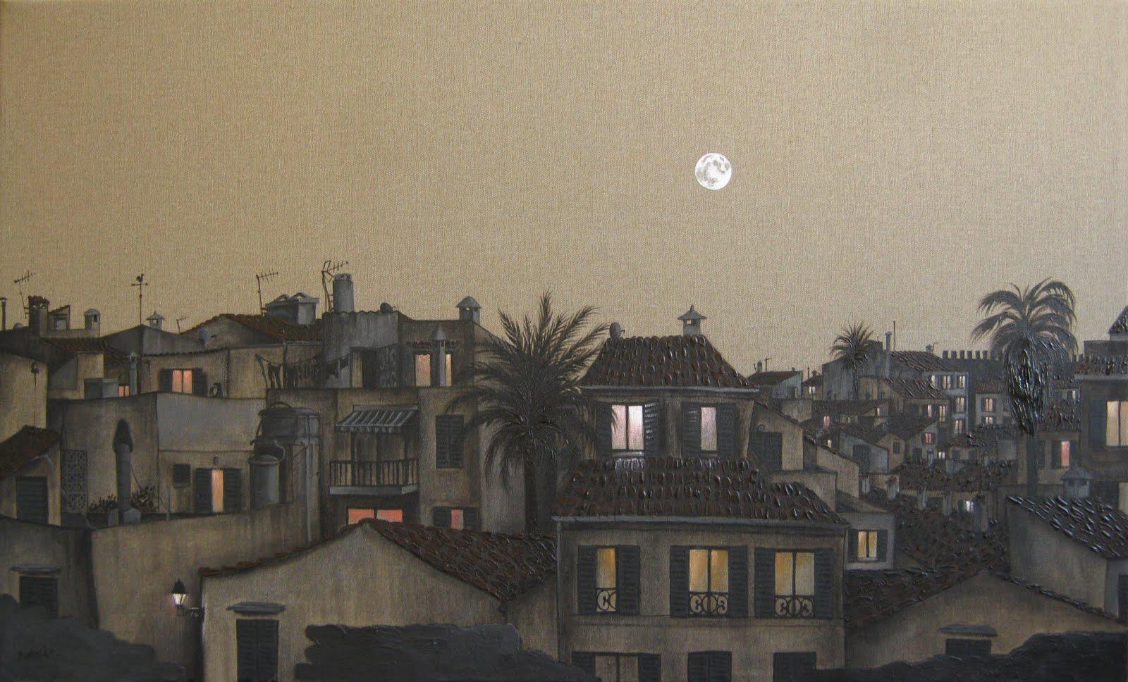 Full moon over Alcudia