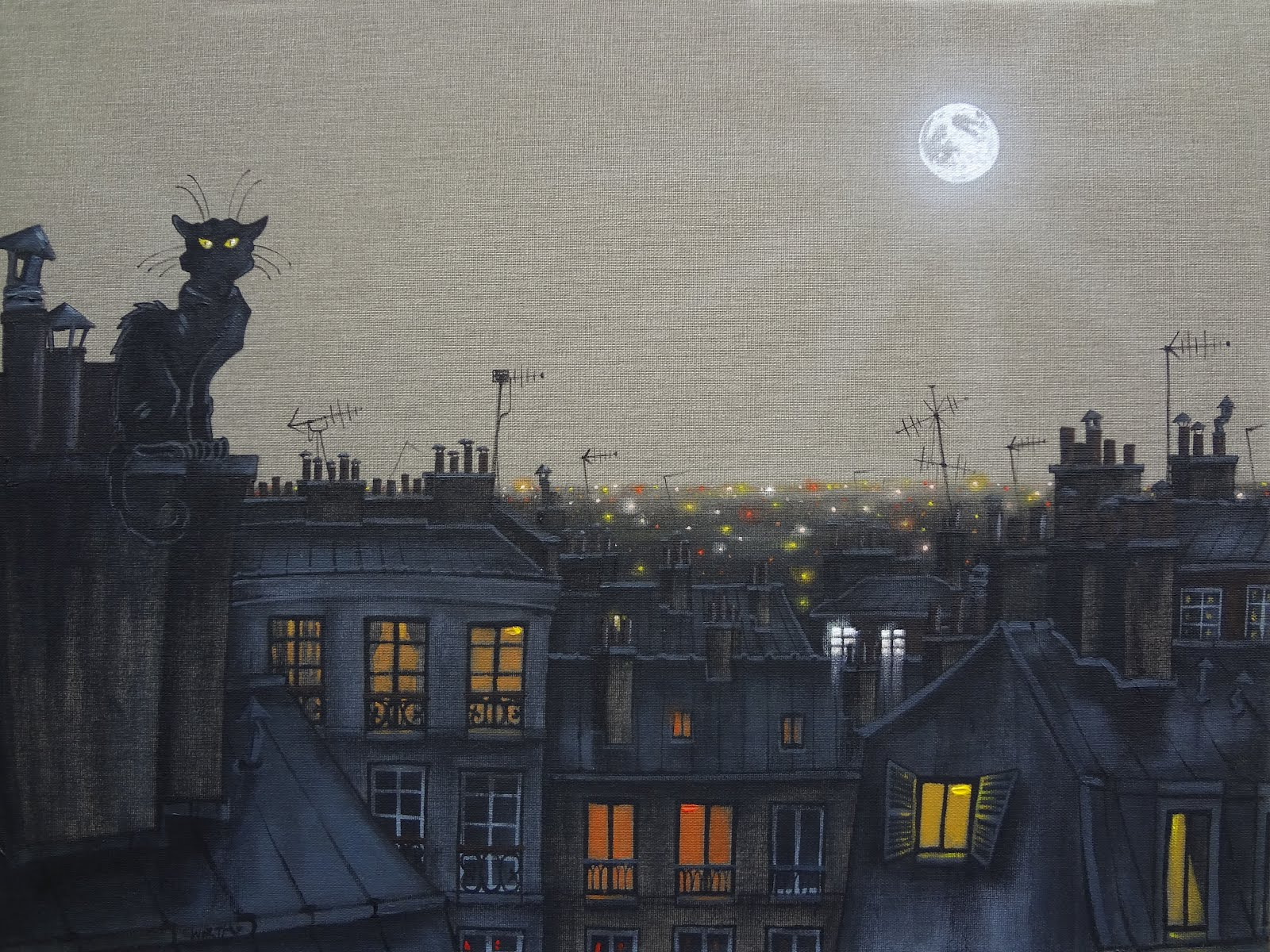 Le Chat Noir-Daniel Worth
