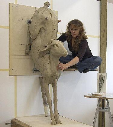 скульптура-длинные-картинки-Искусство-143123