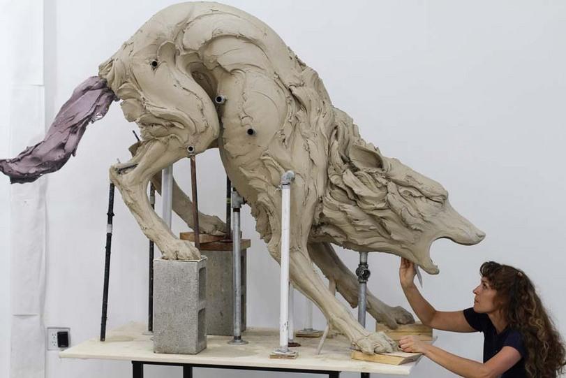 скульптура-длинные-картинки-Искусство-78243