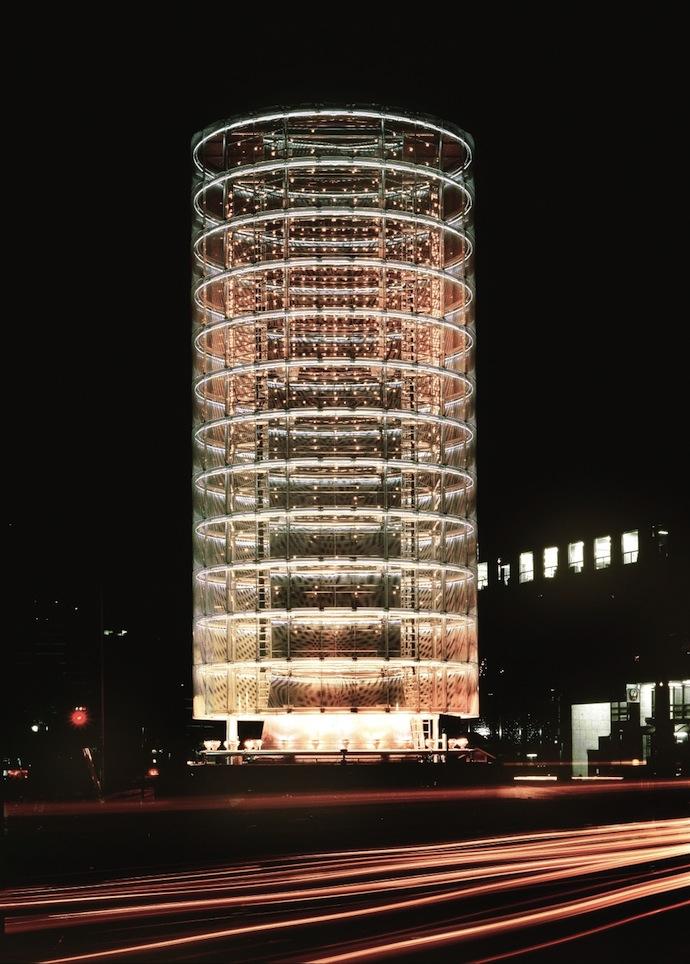 Башня ветров в Иокогаме 1986