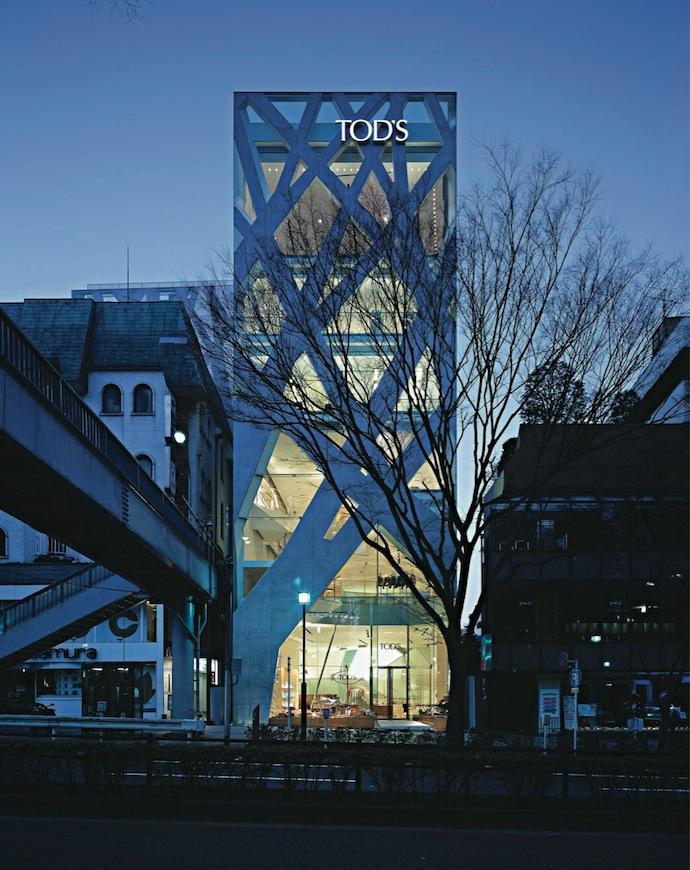 Магазин TOD's в Токио, (2004)