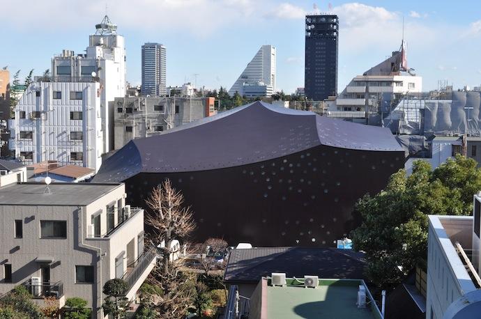 Театр Дза-Коэндзи. Токио, Япония (2008)