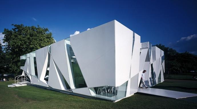 Тойо Ито. Павильон для галереи Serpentine, 2002