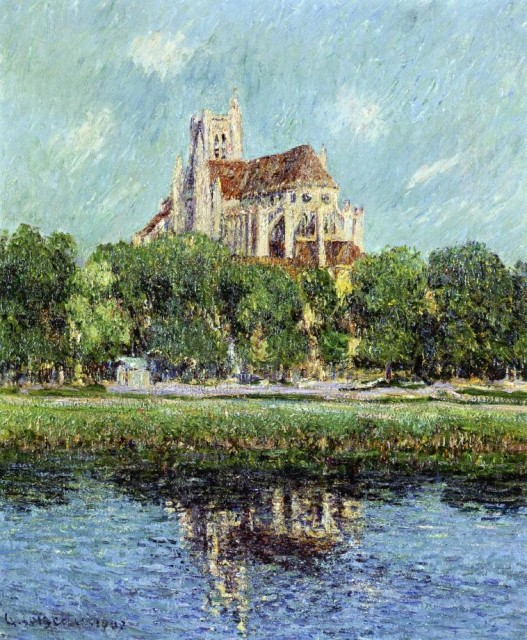 Gustave Loiseau - Auxerre Cathedral