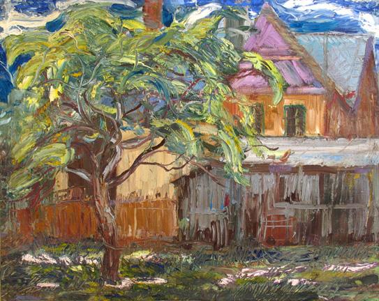 Miedzylesie,1964,olej,plotno,74x94cm