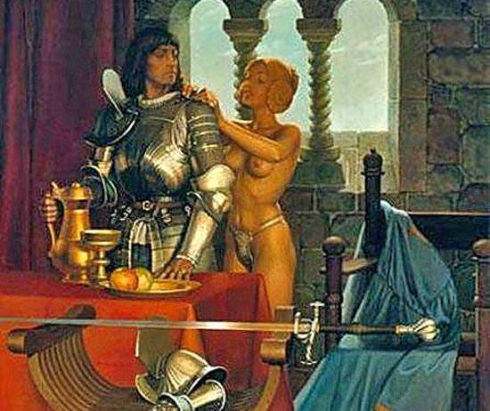 Оральный секс в картинах древних художников