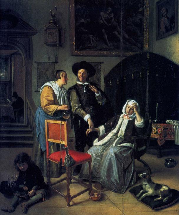 Ян Стен Визит врача