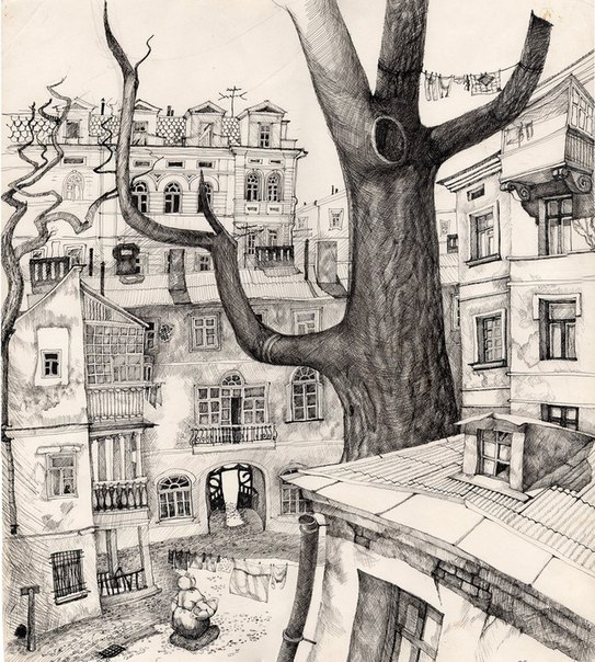Татьяна Поповиченко. Старое дерево