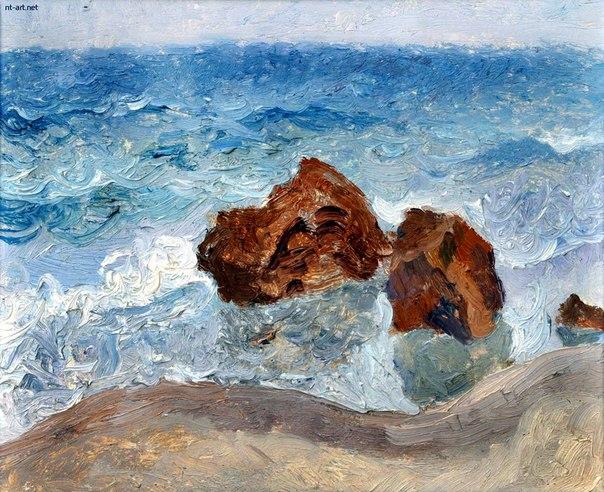 Юрий Егоров. Пляж Отрада, Одесса