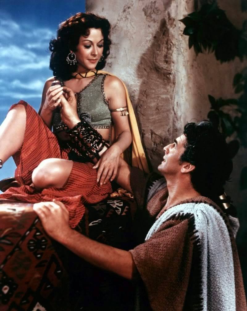 actress Hedy Lamarr in a scene of Sampson & Delilah !!!!.jpg