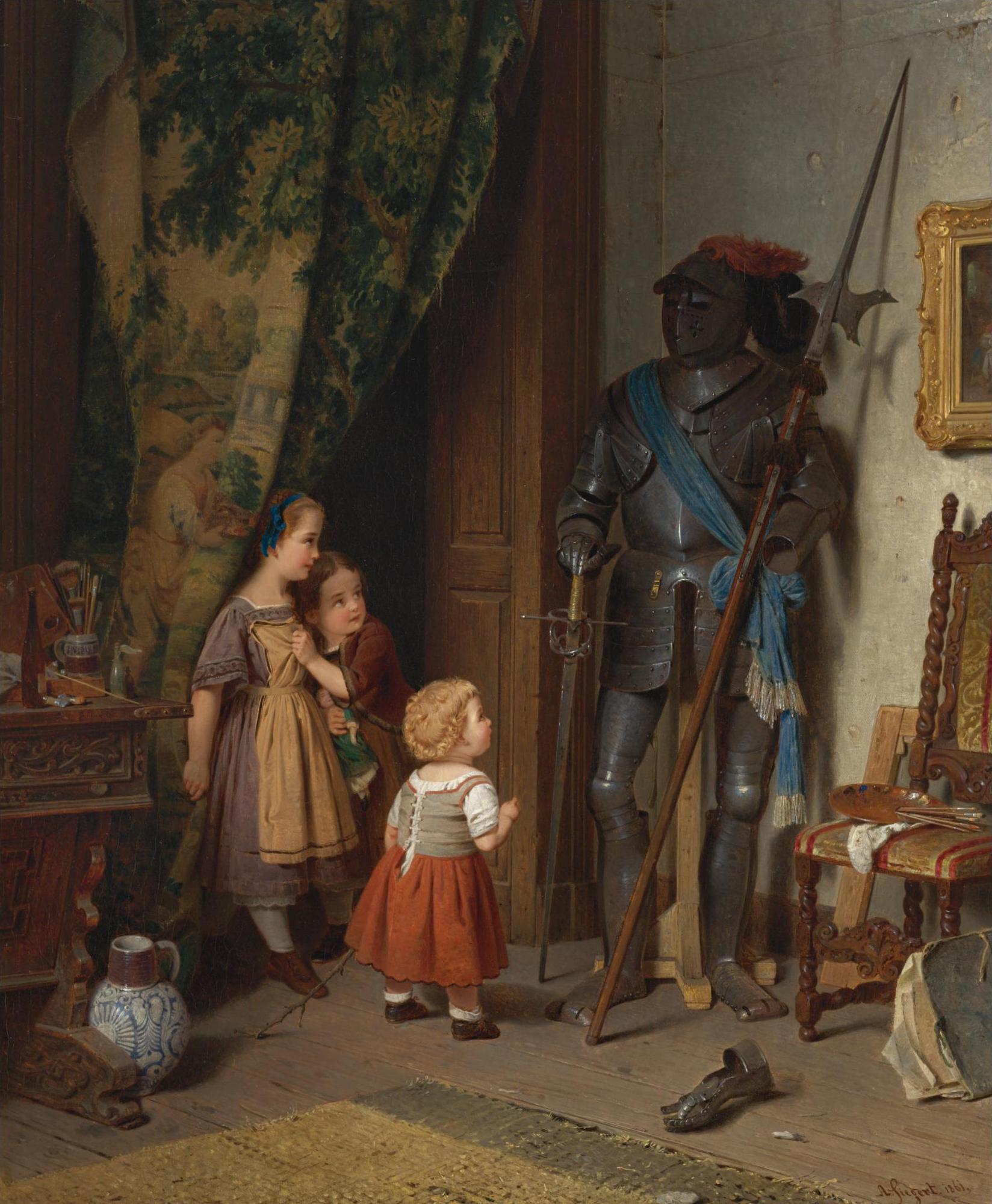 August_Friedrich_Siegert_-_Kinder_in_der_Künstlerwerkstatt.jpg