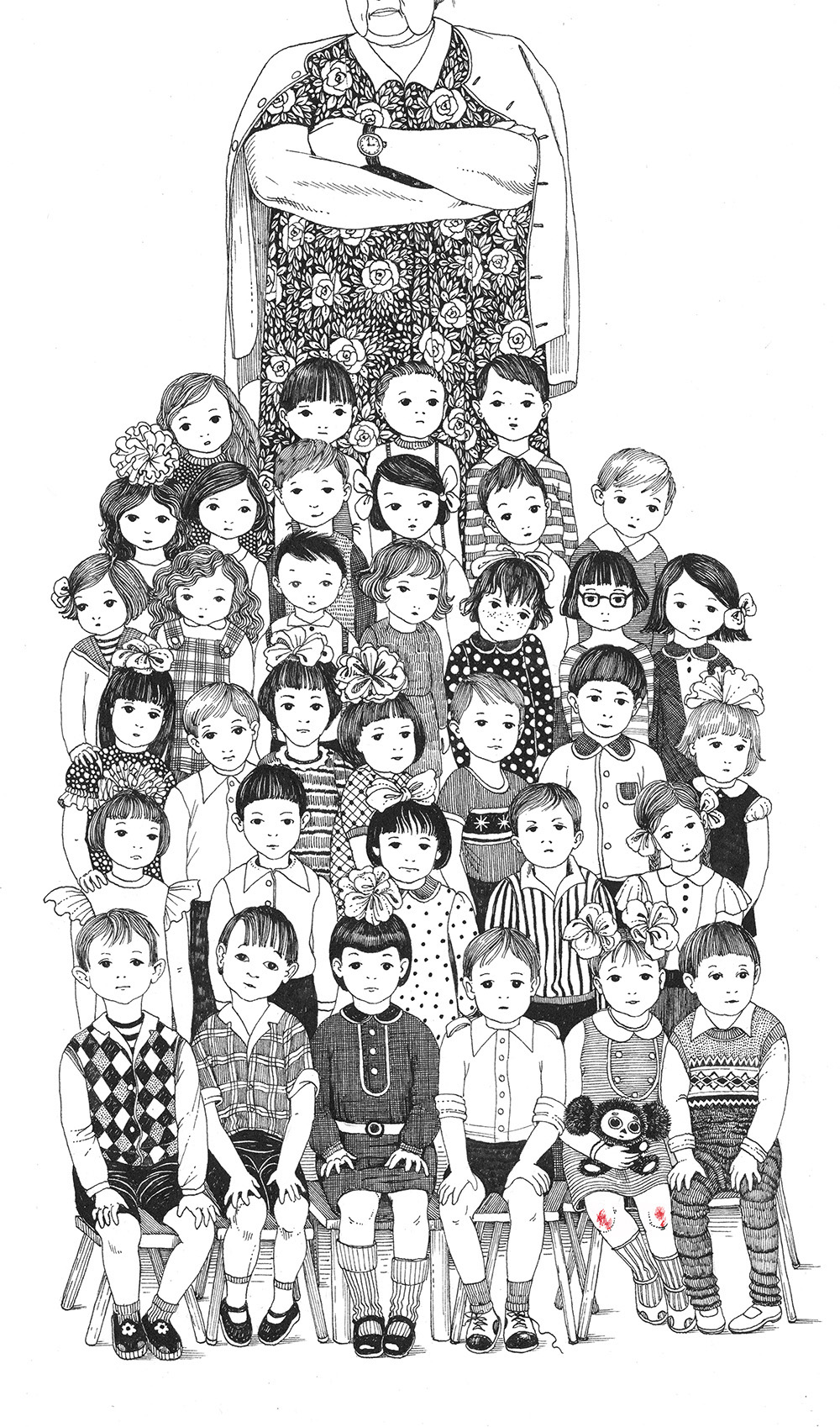 Детство и лето в иллюстрациях Светы Дорошевой художника, живет, обращается, красивой, дотошной, декоративной, иллюстрации, намеком, волшебство, Родилась, Украине, сейчас, Израиле, художник, рисунок, страсть, физически, взаимодействует, своей, работой