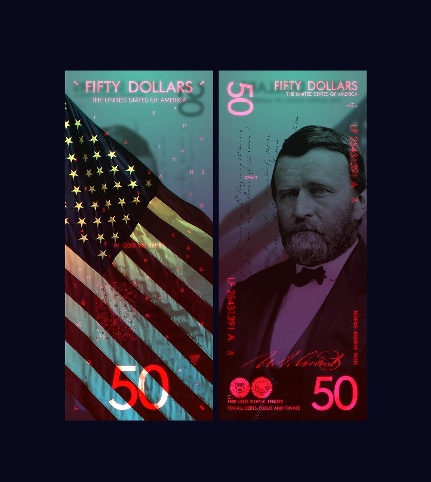 Как выглядели бы деньги США, если бы их разработал современный дизайнер? Август, каждый, видел, Андрей, Проект, получились, тухлое, удовольствия, американским, купюрам, редизайн, начиная, материала, Polymer, Конечно, деньги, великолепные, оформление, хорошего, любые