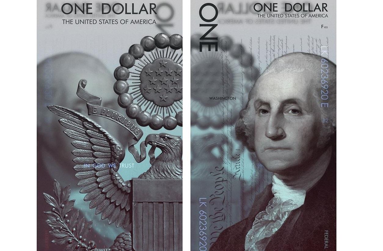 Как выглядели бы деньги США, если бы их разработал современный дизайнер?