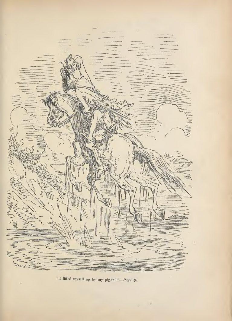 Взбесившаяся шуба и другие приключения Мюнхгаузена в превосходных иллюстрациях Доре барона, Мюнхгаузена», Иллюстрации, Густава, «Приключения, Распе, читал, Иероним, работа, невероятном, французском, бароне, такая, сумасшедшая, герой, фрайхерр, Фридрих, Мюнхгаузен, немецкий, Бальзака