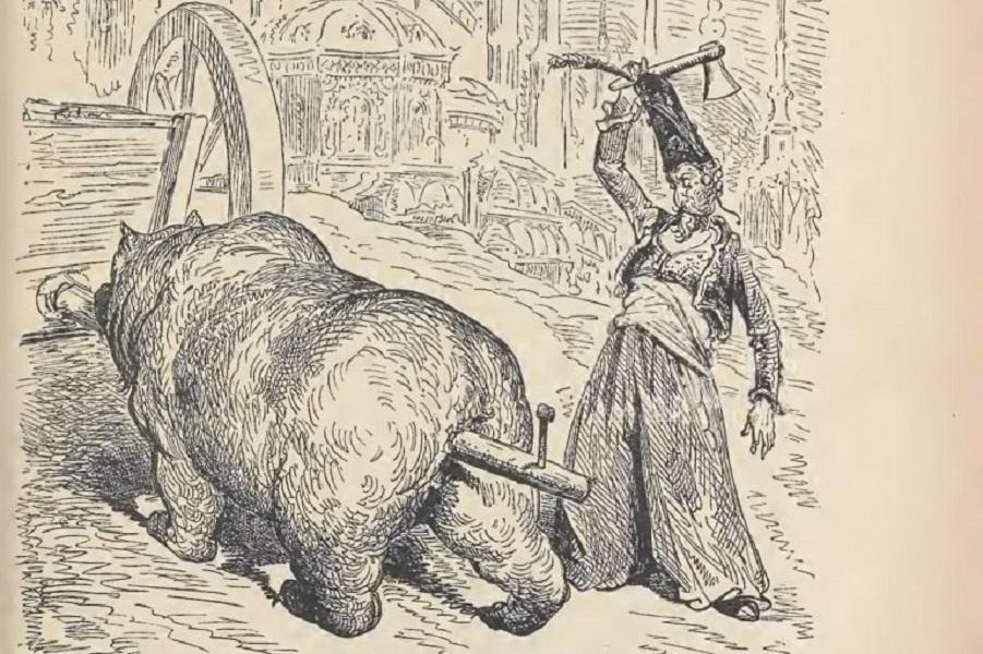 Взбесившаяся шуба и другие приключения Мюнхгаузена в превосходных иллюстрациях Доре